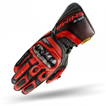 STR-2 GLOVES BLACK/RED XXL